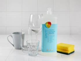 Geschirrspülmittel sensitiv, Nachfüllfüllflasche, 1l