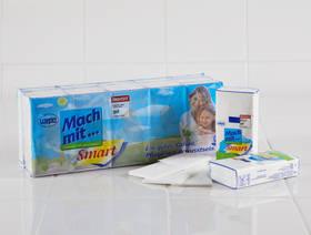 Papiertaschentücher 100% Recycling, 15 Stück