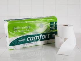 WC-Papier 100% Recycling, 8 Stück