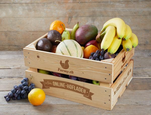 Fruchtkiste für Büros mit Chuchi
