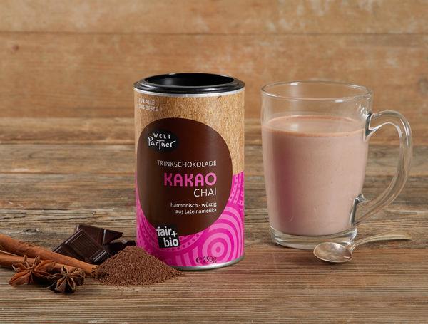 Bio Trinkschokolade Kakao Chai, 250g