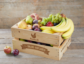 Bio Fruchtkiste für Büros, klein