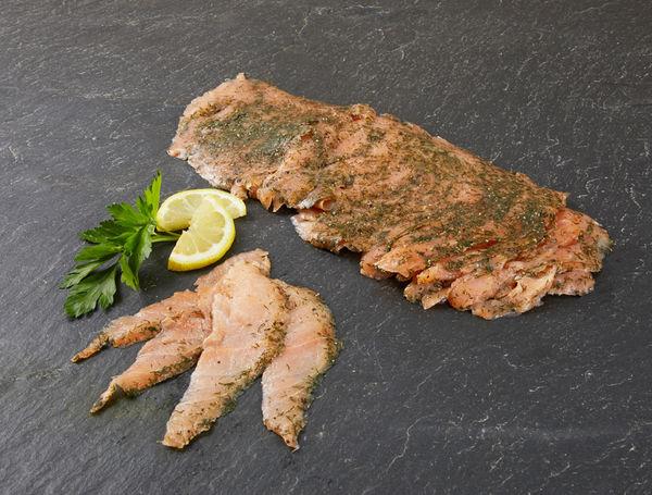 Image of Graved Lachs mariniert, geschnitten, 500g