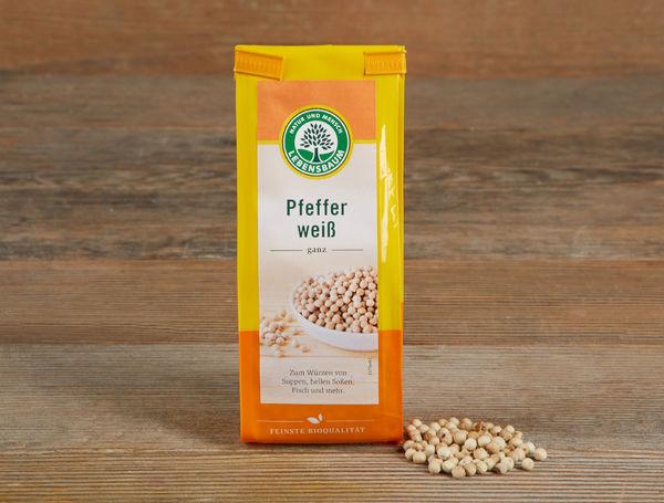 Image of Bio Pfeffer weiss, ganz, 50g