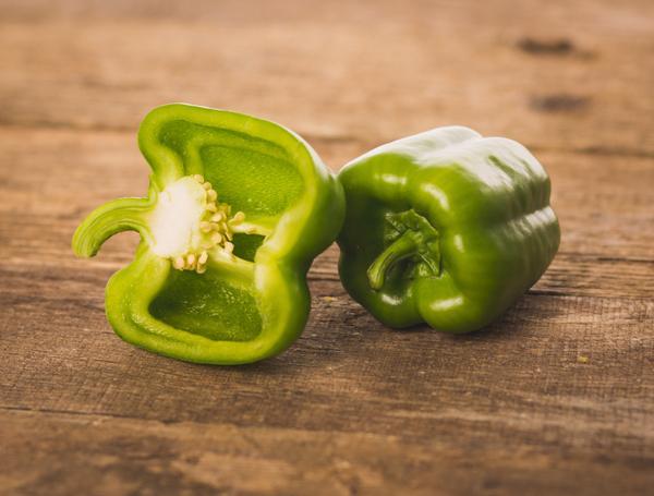 Image of Bio Peperoni grün