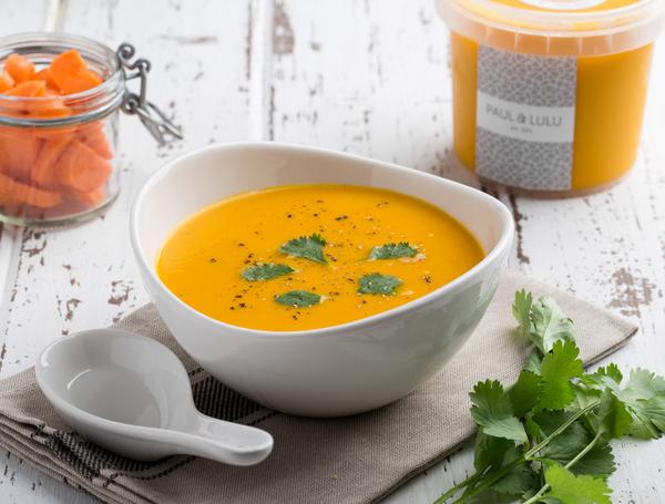 Thai Karotten Suppe von Paul & Lulu bei Farmy.ch online einkaufen.