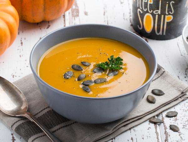 Kürbissuppe, 500ml von Suppen und Pedale bei Farmy.ch online einkaufen.