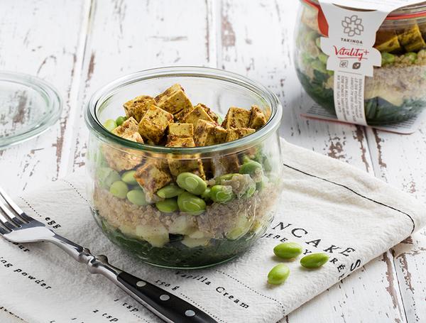 Bio Tofu an japanischem Curry mit Quinoa, 340g von Takinoa bei Farmy.ch online einkaufen