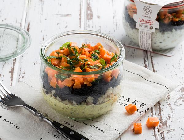 Bio Linsen-Daal mit Karotten, 340g von Takinoa  bei Farmy.ch online einkaufen