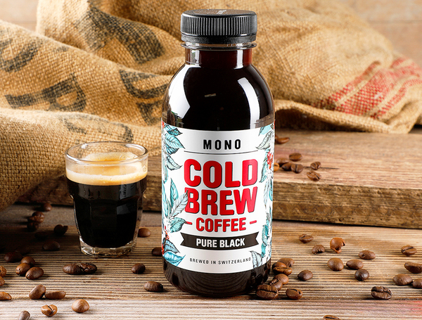 Cold Brew Coffee - Pure Black, 300ml von MONO bei Farmy.ch online einkaufen.