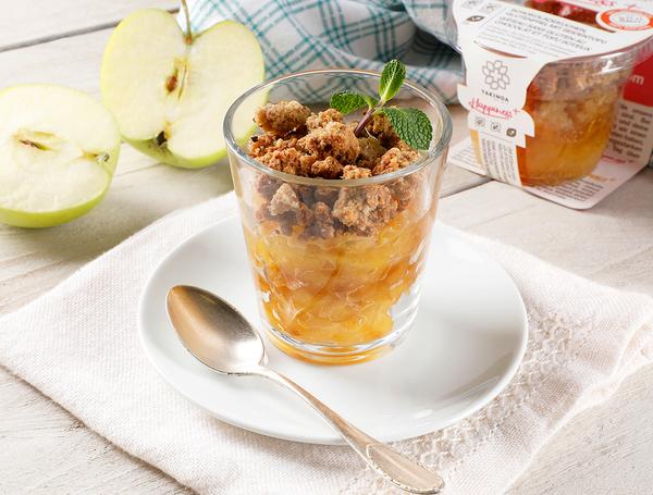 Crumble mit Apfel und Limette, 150g von Takinoa bei Farmy.ch online einkaufen,