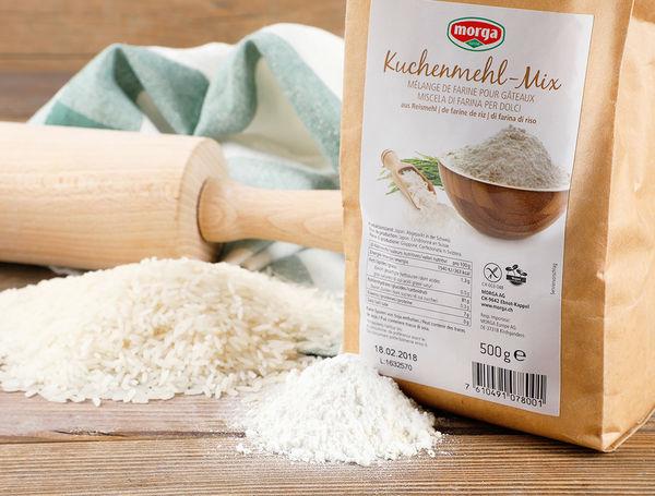 Image of Kuchenmehl-Mix aus Reismehl, 500g