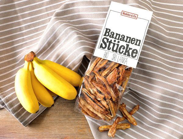 Image of Bio Bananenstücke, 200g