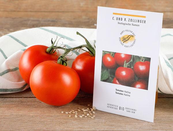 Image of Bio Gemüsesamen Tomaten Matina, 5g