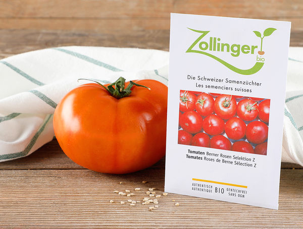 Image of Bio Gemüsesamen Tomaten Berner Rosen Selektion Z, 5g