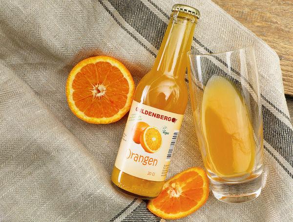 Orangen Direktsaft von Guldenberg bei Farmy.ch onlline kaufen