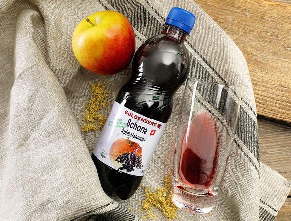 Schorle Apfel-Holunder von Guldenberg bei Farmy.ch onlline kaufen