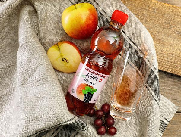 Schorle Apfel-Traube von Guldenberg bei Farmy.ch onlline kaufen