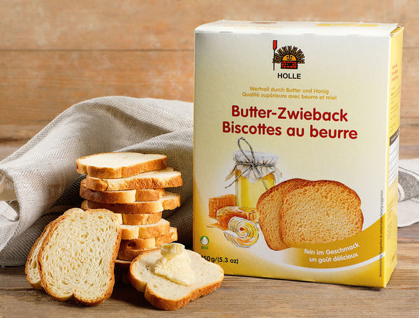 Image of Holle Bio Butter-Zwieback, 150g