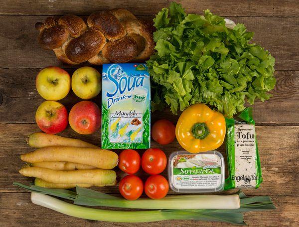 Vegane Produkt Kisten