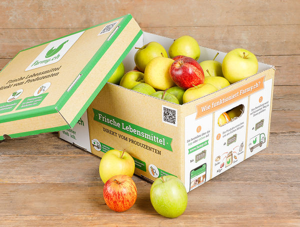 Image of Apfelkiste für Büros