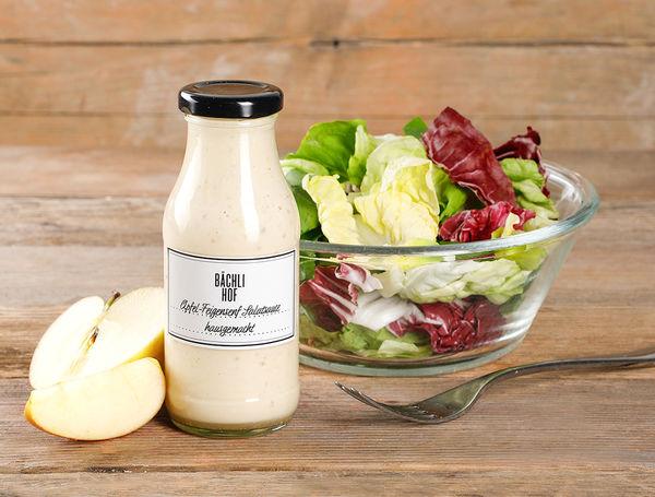 Salatsauce hausgemacht Apfel-Feigensenf, 2.5dl von Bächlihof bei Farmy.ch online einkaufen.