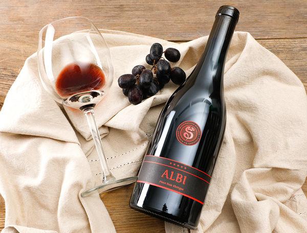 Image of Bio Albi Pinot Noir AOC Demeter, 75cl, 2015