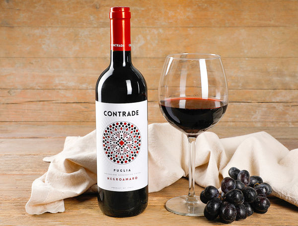 Image of Contrade Negroamaro IGT, 75cl, 2016