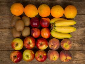 Bio Saison-Früchtekorb für Büro