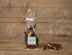 Douce Chocolate 54% mit Haselnuss, vegan