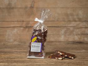 Douce Chocolate 54% mit Mandeln, vegan