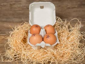 Eier, Bio Suisse, 4 Stück