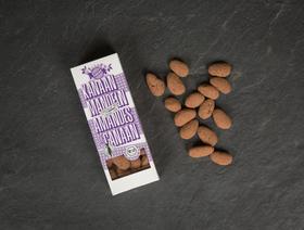 Bio Dark Chocolate Canaan Almonds Fairtrade, 100g