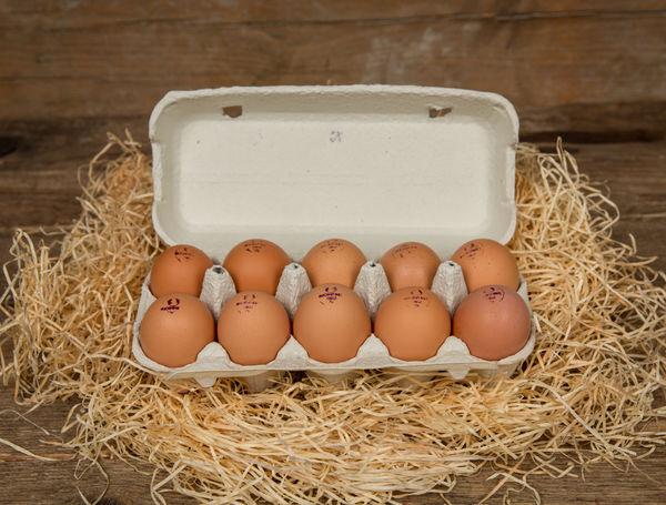 Eier Bio Suisse, 10 Stück von Hof Blum bei Farmy.ch online einkaufen