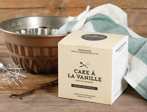 Image of Backmischung Vanillekuchen, 500g
