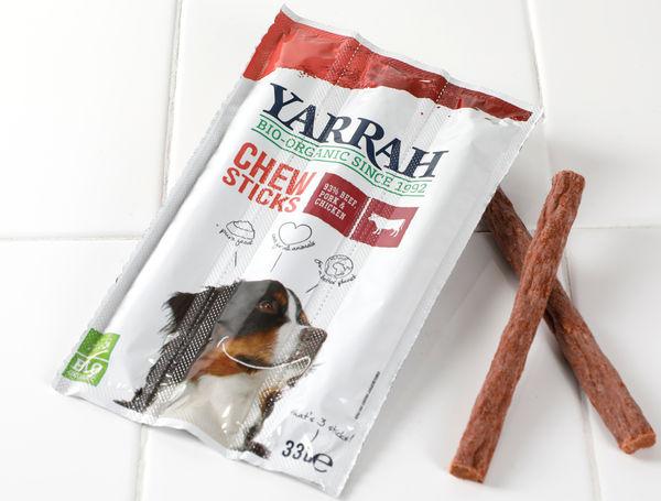Image of Bio Hunde-Kausticks Rind, Schwein & Poulet, 3 Stück, 33g