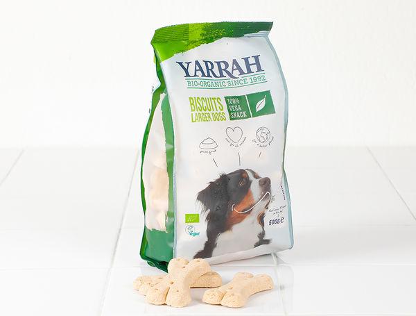 Image of Bio Hundeguetzli vegan für grosse Hunde, 500g