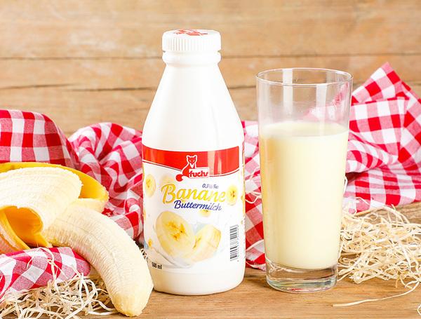 Image of Buttermilch Banane, 0.3% Fett, 500ml