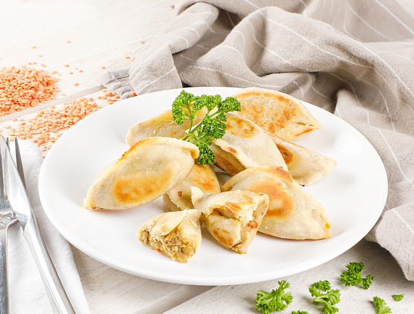 Image of Bio Empanadas Curry-Linsen, ca. 8 Stück, 250g