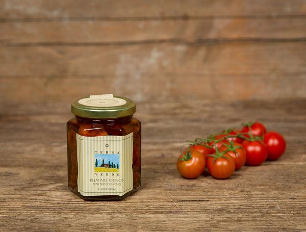 Image of Bio kleine Tomaten in Öl, 170g
