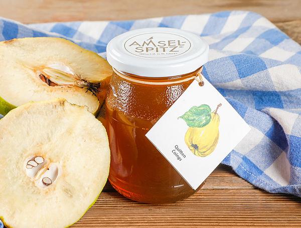 Image of Fruchtaufstrich Quitten Gelée AMSELSPITZ®, 320g