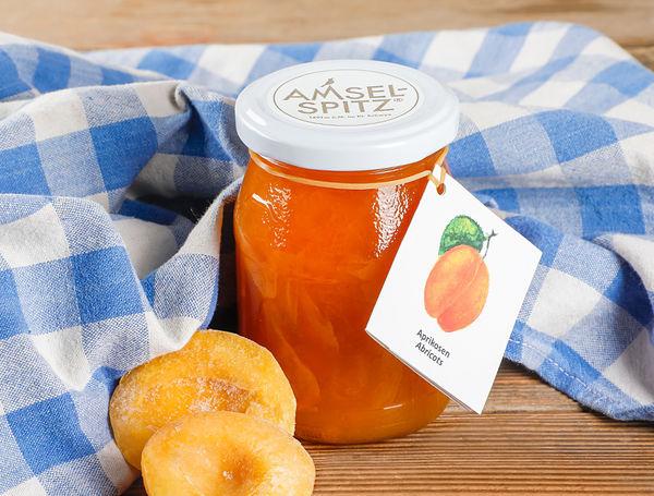 Image of Fruchtaufstrich Aprikosen AMSELSPITZ®, 320g