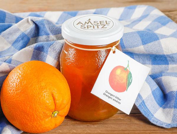 Image of Fruchtaufstrich Orangen bitter AMSELSPITZ®, 320g