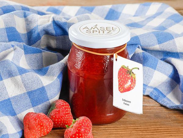 Image of Fruchtaufstrich Erdbeer AMSELSPITZ®, 320g