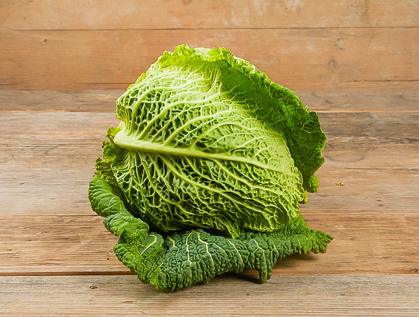 Have The Fresh Bio Savoy Cabbage From Bioland Delivered