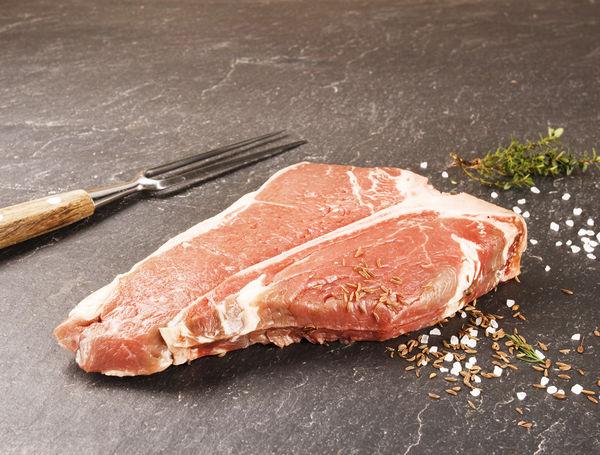 Image of Bio Black Angus Rinds T-Bone Steak, ca. 400g