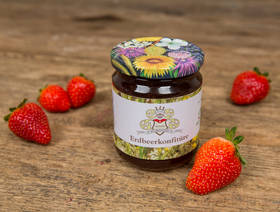 Bio Strawberry jam, 250g