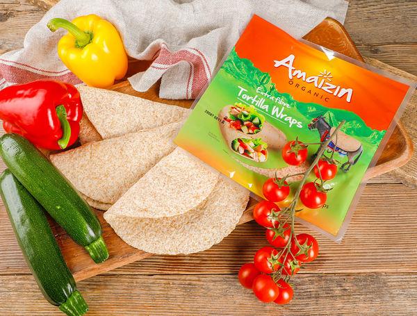 Image of Bio Tortilla Wraps Extra Fibre, 240g