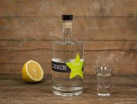 Lemon Gras Vodka, 50cl