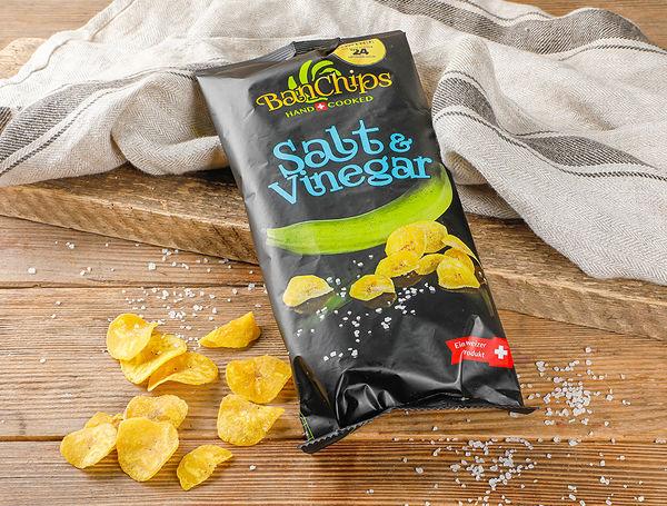 Image of Platano Chips Salt & Vinegar, 90g